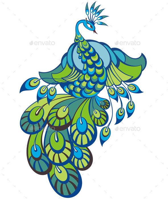 GraphicRiver Peacock 10245234