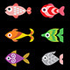 Fish Icons on Black - GraphicRiver Item for Sale