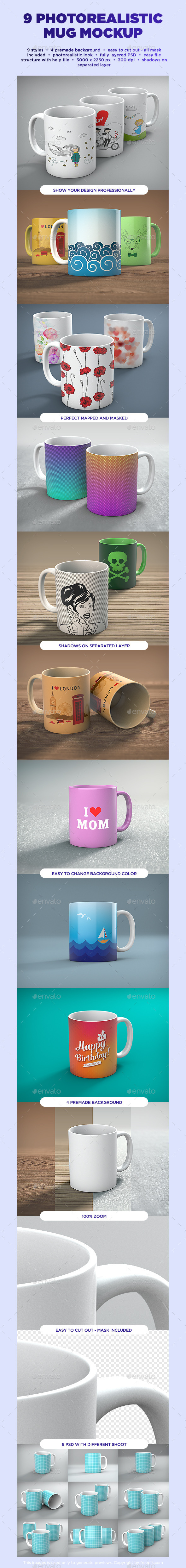 GraphicRiver Mug Mock-up 10245705