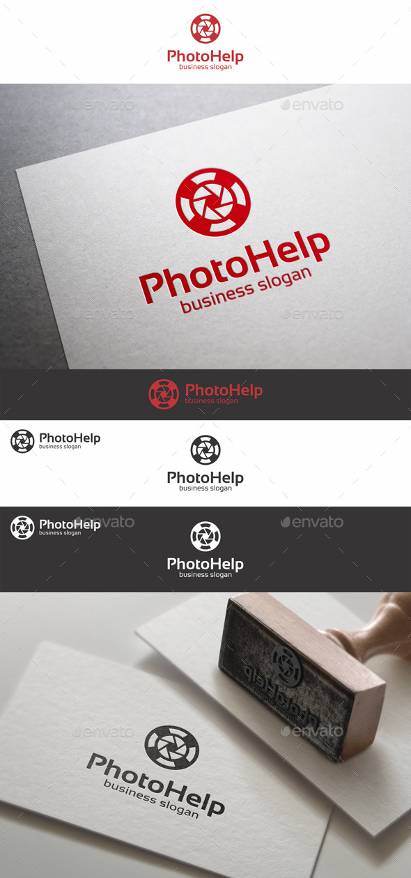 GraphicRiver Photo Help Support Logo 10245761
