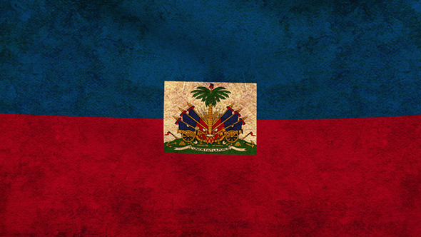 Haitian Flag Wallpaper Haiti Flag Grunge by A...