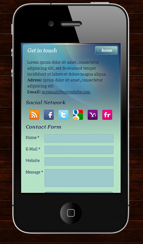 My Mobile Page -