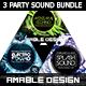 3 PSD Party Sound Flyer Bundle - GraphicRiver Item for Sale