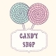 Hand Drawn Lollipop with Label - GraphicRiver Item for Sale