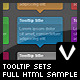 Tooltip Sets (html Sample) - GraphicRiver Item for Sale