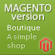 Boutique - Magento Theme - ThemeForest Item for Sale