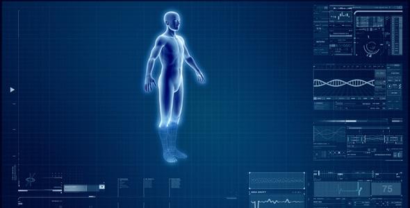 VideoHive Hi-tech Interface 129280