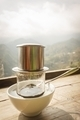 Coffee dripping in retro mood vietnamese style. - PhotoDune Item for Sale
