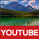 Modern Youtube Channel Background 2 - GraphicRiver Item for Sale