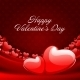 Heart on Silk with Light Valentine's Day Background - GraphicRiver Item for Sale