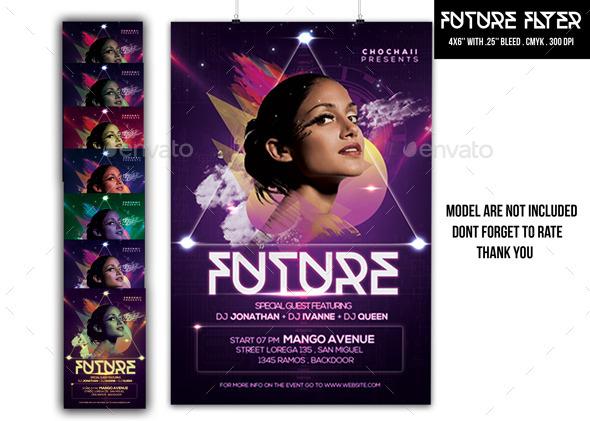 GraphicRiver Future Flyer 10246648