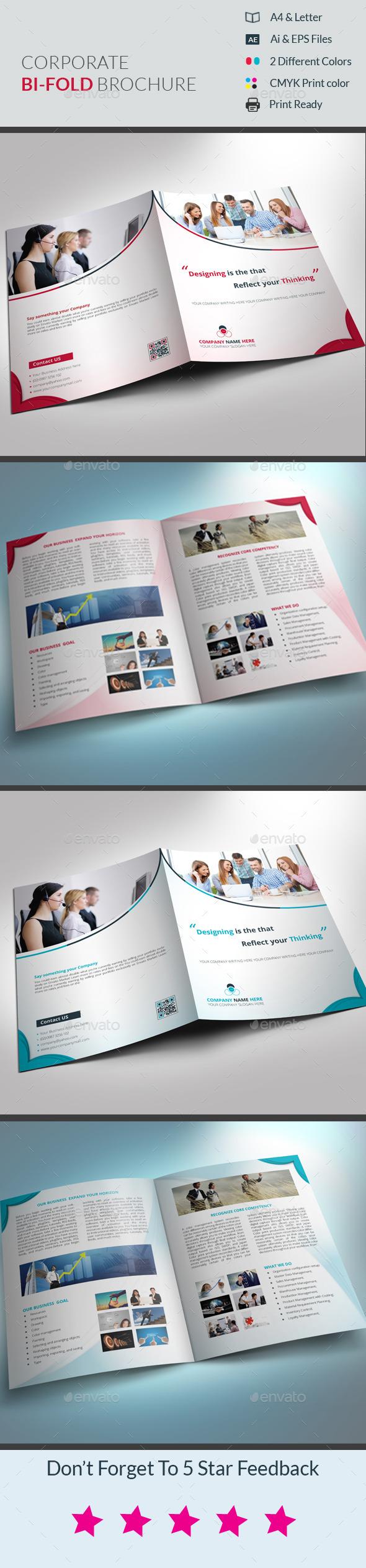 GraphicRiver Corporate Bi-Fold Brochure 10246692