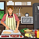 Man Cooking in the Kitchen - GraphicRiver Item for Sale