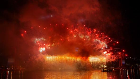 Fireworks New Year s Eve Sydney