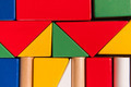 Colorful Toy Block Background - PhotoDune Item for Sale