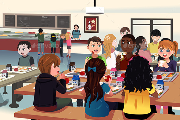 GraphicRiver School Cafeteria 10247927