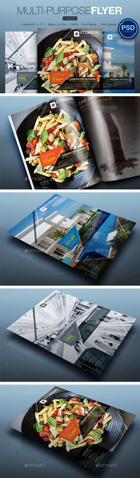 GraphicRiver Multipurpose Flyer Vol.02 10248094