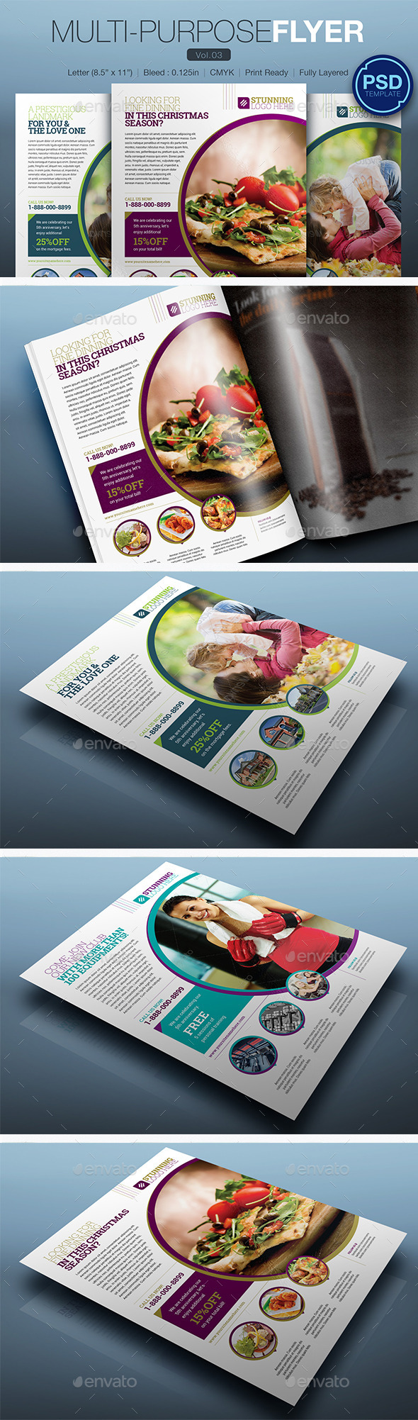 GraphicRiver Multipurpose Flyer Vol.03 10248137