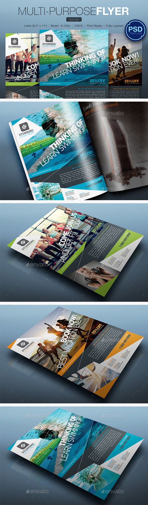 GraphicRiver Multipurpose Flyer Vol.04 10248144