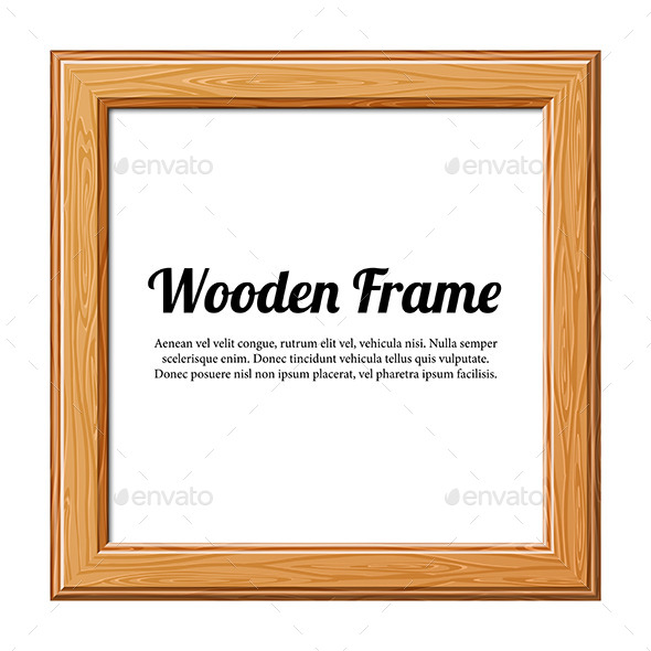 GraphicRiver Wooden Frame 9496868