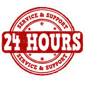 24 hour service stamp - PhotoDune Item for Sale