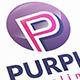 Purple P Letter Logo - GraphicRiver Item for Sale