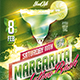 Flyer Margarita Cocktail Konnekt - GraphicRiver Item for Sale