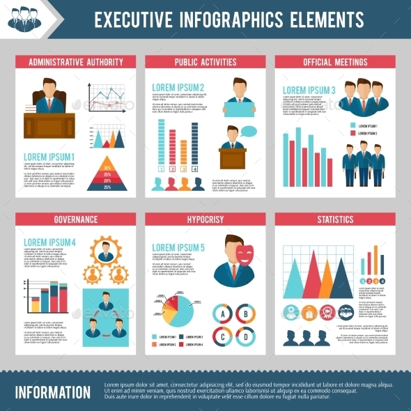 GraphicRiver Executive Infographics Set 10249445