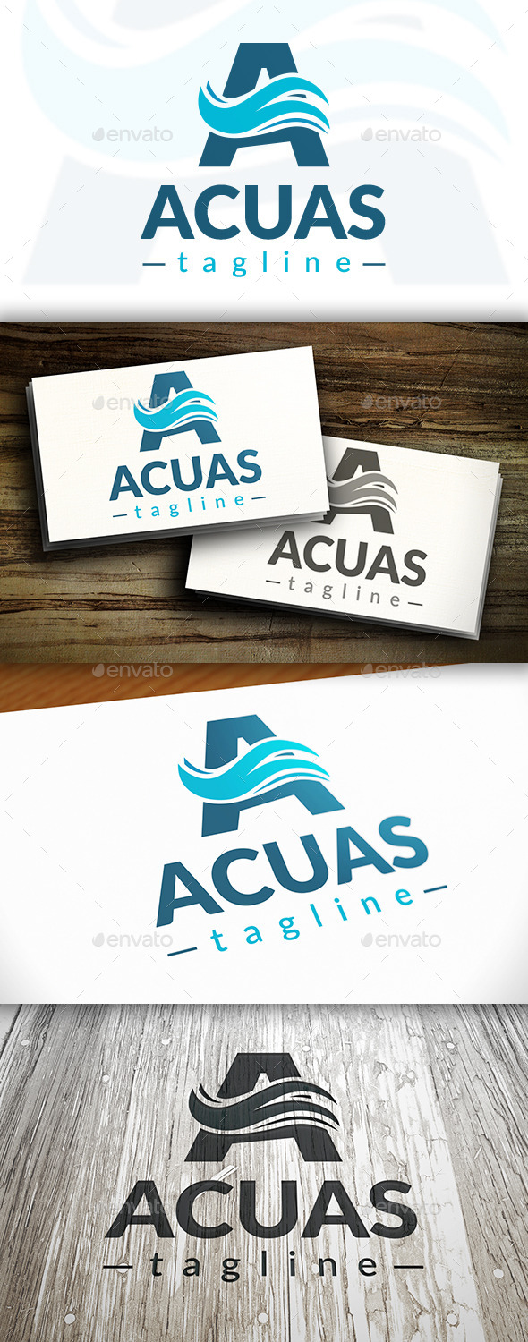 GraphicRiver Aquatic Logo 10249674