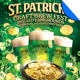 St. Patrick's Day Beer Fest Flyer Template - GraphicRiver Item for Sale