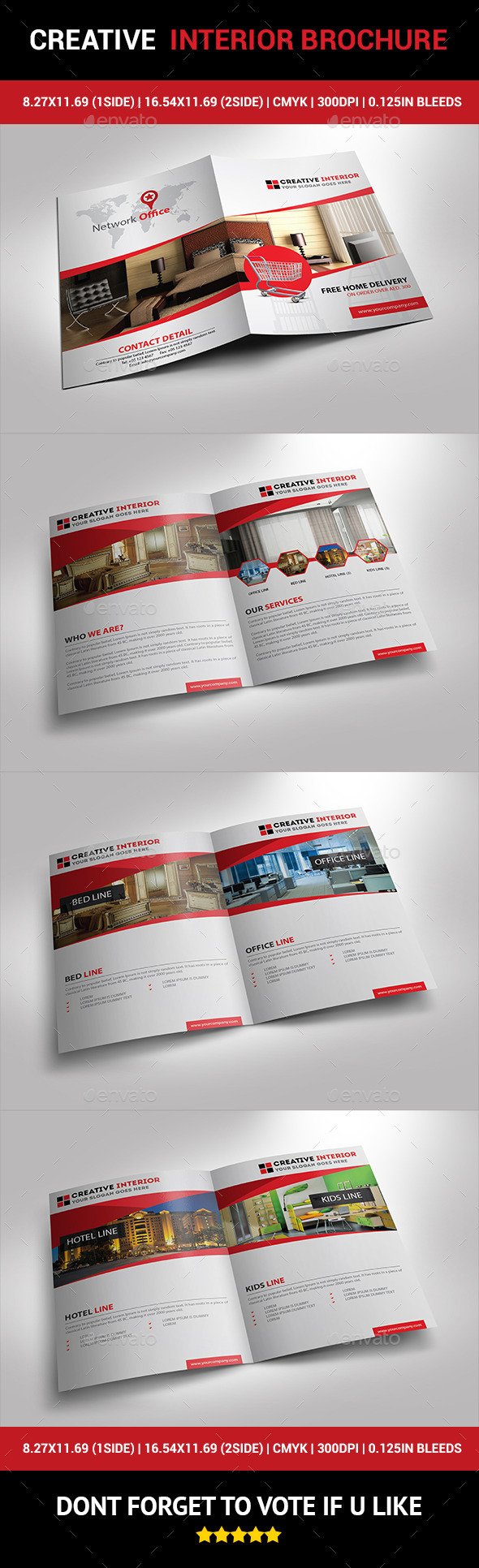 Creative Interior Brochure