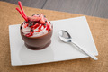 Strawberry and chocolate pastry mousse - PhotoDune Item for Sale