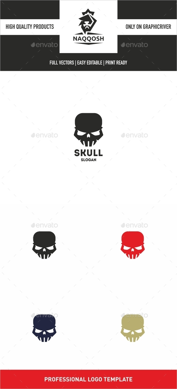 GraphicRiver Skull 10250301