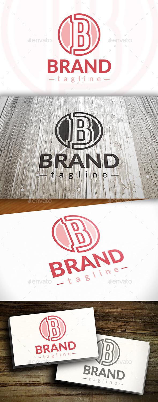 B Letter Brand Logo