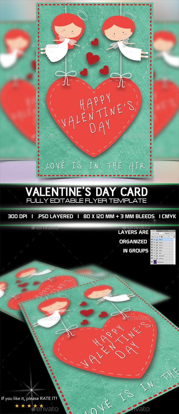 GraphicRiver Valentine Card 10250468