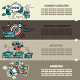 Set Seven of Business Banners - GraphicRiver Item for Sale