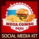 Restaurant Fast Food Web Social Media Kit  - GraphicRiver Item for Sale