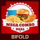 Restaurant Fast Food Menu Bifold Brochure - GraphicRiver Item for Sale