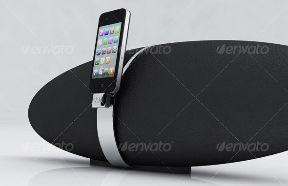 I phone / I pod Player Zeppelin - 3DOcean Item for Sale