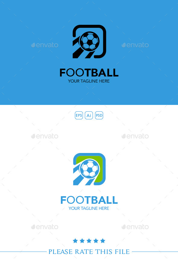 GraphicRiver Football Logo 10250638
