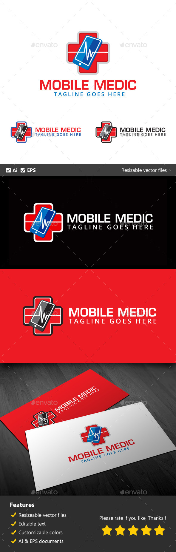 GraphicRiver Mobile Medic 10250884