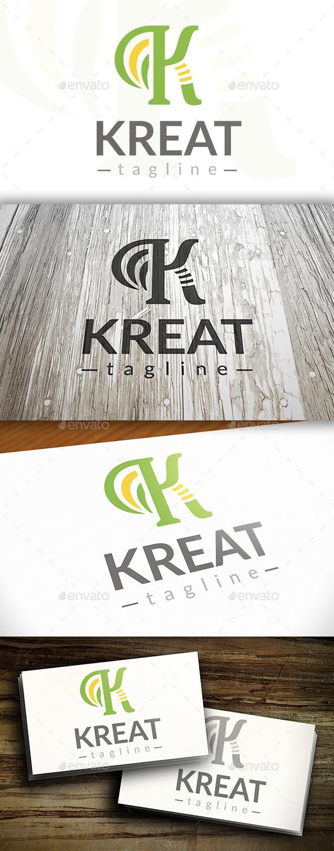 GraphicRiver Creative K Letter Logo 10250888