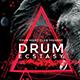 Drum Ecstasy Flyer - GraphicRiver Item for Sale