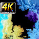 Colorful Paint Ink Drops Splash in Underwater 46 - VideoHive Item for Sale