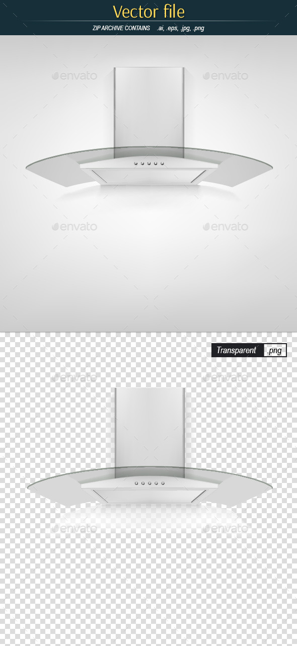 GraphicRiver Kitchen Hood with Glass 10251440