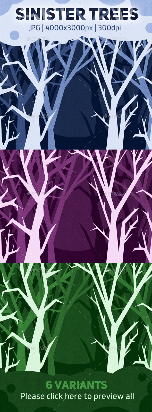 GraphicRiver Sinister Trees 10251487
