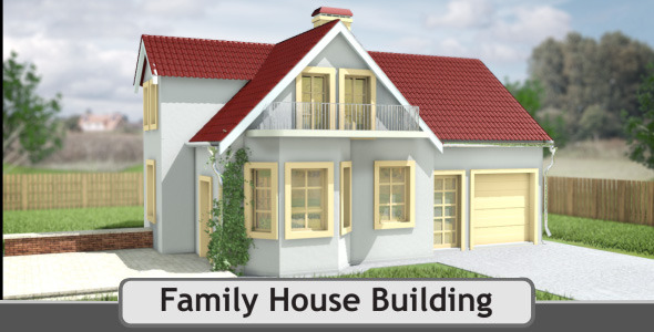 Family House Building