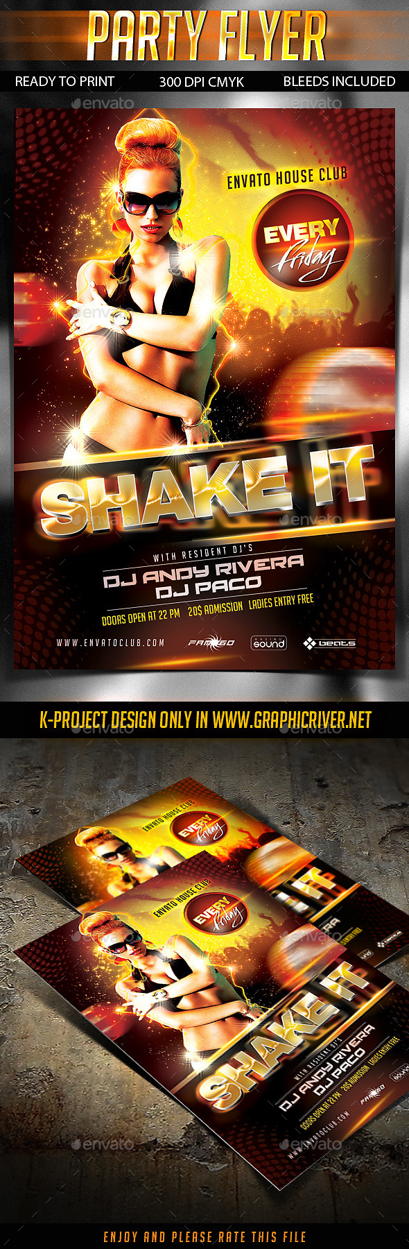 GraphicRiver Party Flyer 10199329