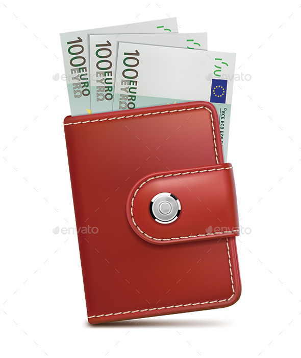 GraphicRiver Wallet with Money 10251692