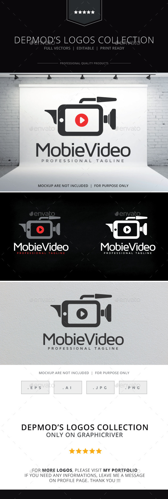 GraphicRiver Mobile Video Logo 10252235
